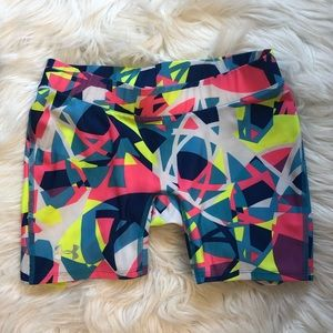 Under Armour heat gear shorty compression shorts